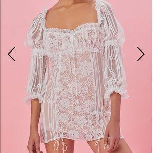 for love and lemons monroe mini dress